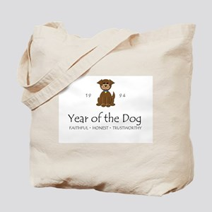 """Year of the DOg"" [1994] Tote Bag"